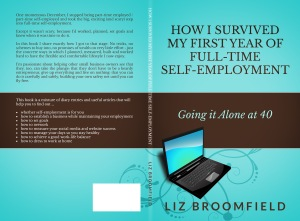 Print cover - how I survived my first year of full-time self-employment