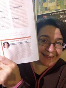 Liz Broomfield with article on Cholesterol book